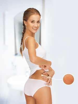 Produits anti cellulite contre la peau d'orange